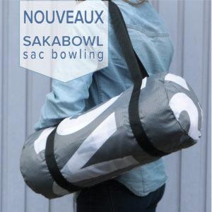 sac bowling en toile publicitaire