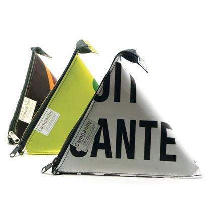 Accessoires en bâche publicitaire recyclée Campanile Reversible éco design