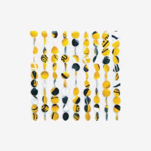 Rideau de porte Dékodoor jaune