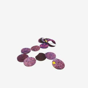 Guirlande Dékonfettis violette