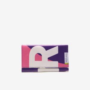 Portefeuille Sakabillet rose et violet