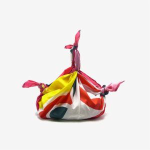 Furoshiki Sakanoeuds multicolore