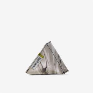 Porte monnaie en bâche pvc recyclée Reversible eco-design