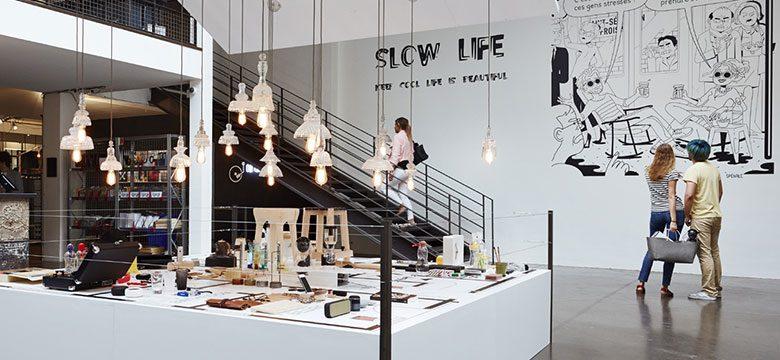 Exposition Slow Life chez Merci