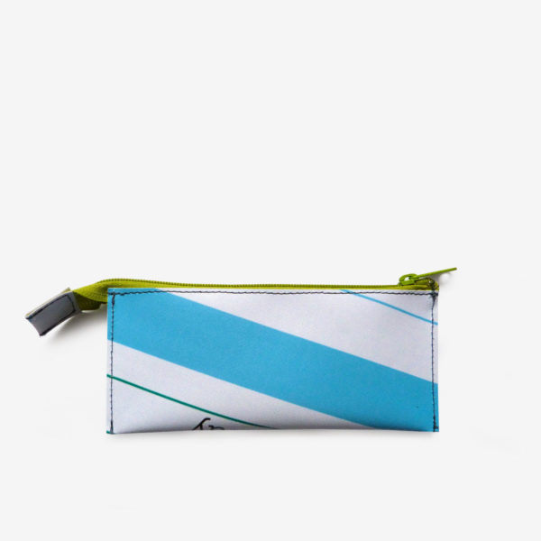 Trousse écolier en bache recyclee Reversible upcycling