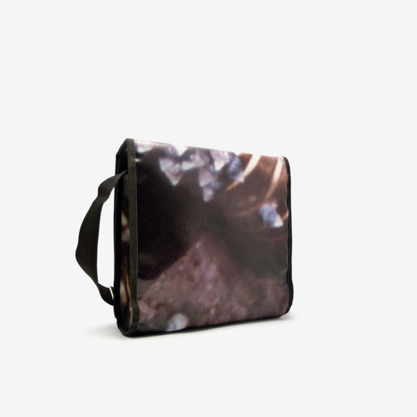 Sac en bache publicitaire recyclee Reversible upcycling