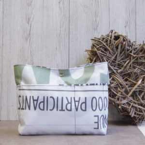 trousse recyclee reversible eco design upcycling