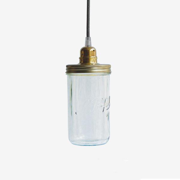 lampe bocal suspension bocal le parfait