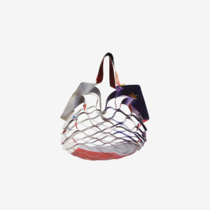 sac filet provisions bache publicitaire-recyclee reversible eco design