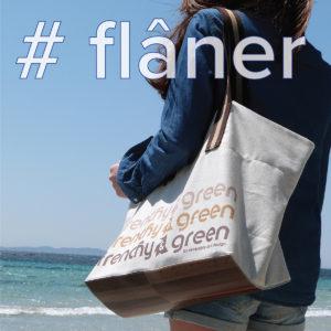 sac cabas en textile recyclé reversible eco design