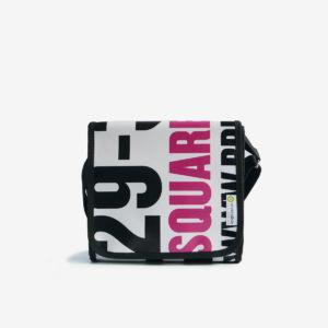 sac en bache recyclee blanche reversible eco design