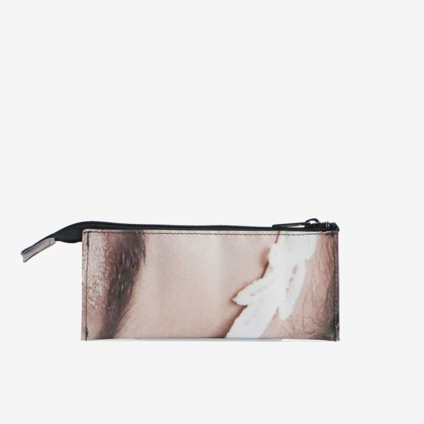 trousse ecolier en bache recyclee reversible upcycling