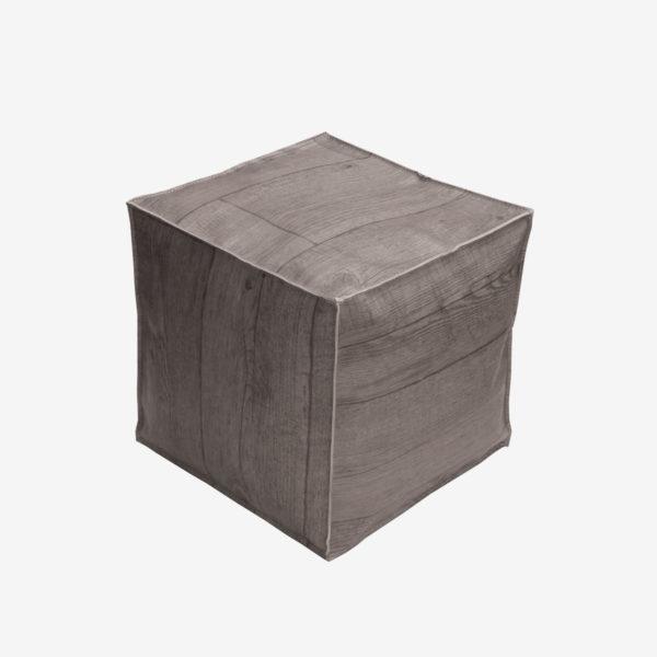 pouf sol vinyle reversible eco design