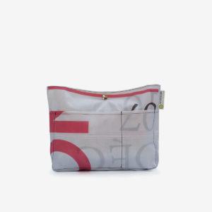 trousse en textile publicitaire reversible eco-design
