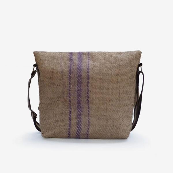 sac en toile de jute de cafe reversible eco design