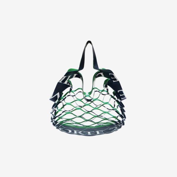 sac filet en bâche publicitaire recyclée reversible eco design
