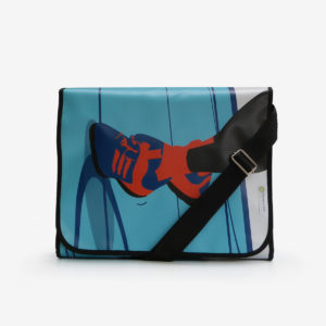 03 sac en bache bleue reversible eco design