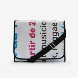 06 sac en bache blanche reversible eco design