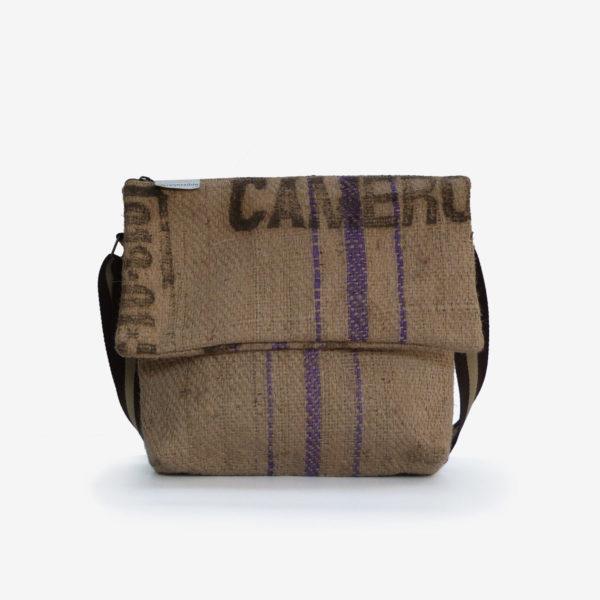 Besace toile de jute sac de café du Cameroun