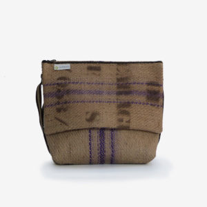 sac toile de jute cafe reversible eco design