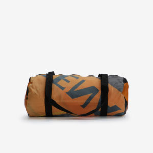 sac sport orange affichage publicitaire recycle reversible eco design