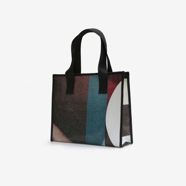 dos cabas coloré en bache publicitaire-recycle reversible eco design