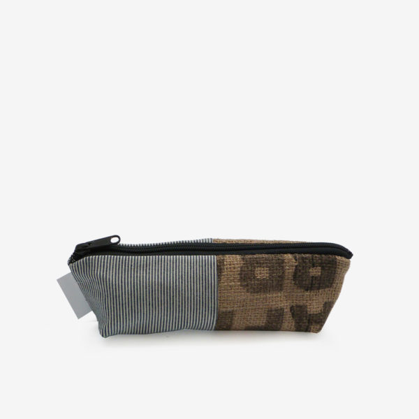 07 trousse en toile recyclee reversible upcycling