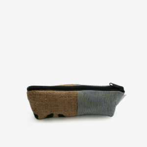 08 trousse en toile recyclee reversible upcycling