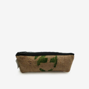 12 trousse en toile recyclee reversible upcycling