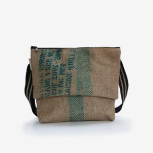 09 besace toile de jute sac de cafe reversible upcycling