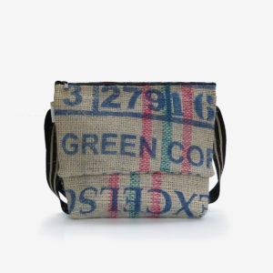 11 besace toile de jute sac de cafe reversible upcycling