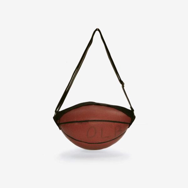 dos sac en ballon de basket recycle reversible upcycling