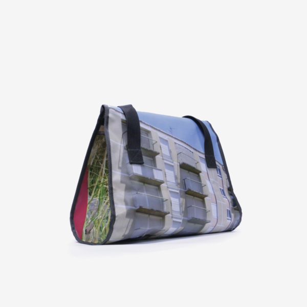 16dos sac week end en bache publicitaire recyclee reversible made in france