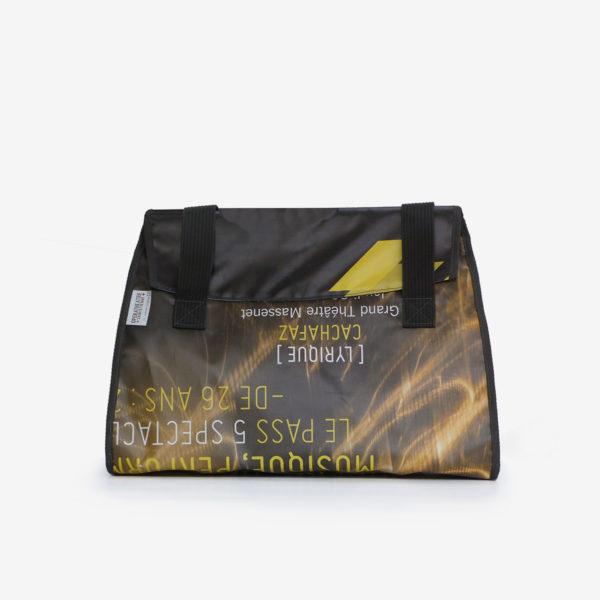 Sac en bâche publicitaire recyclée Opéra de st Etienne