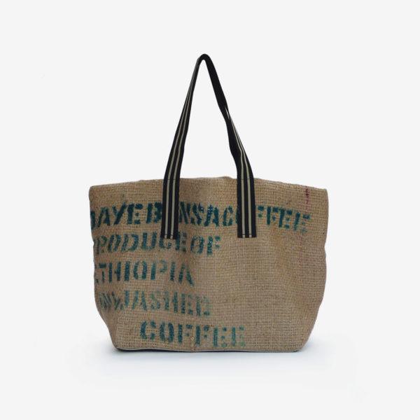 cabas en toile de café