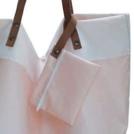 sac toile airbag reversible eco design