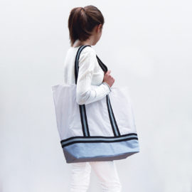 sac toile parapente upcycling reversible