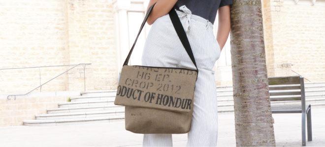 sac en toile de sac de transport de café