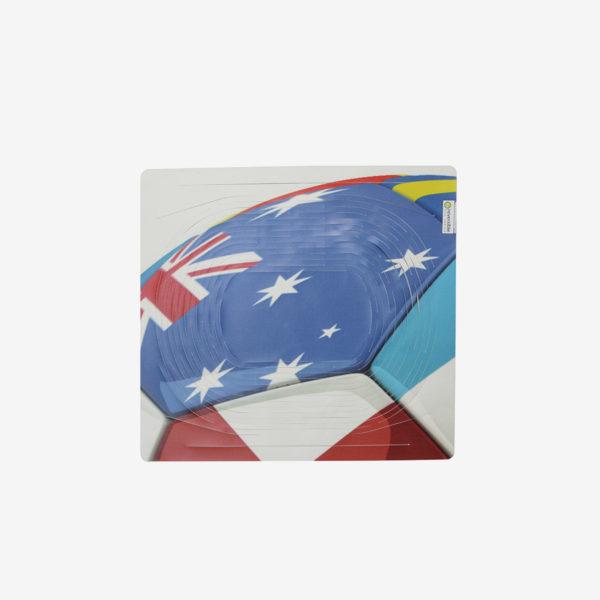 sac filet drapeau en bâche publicitaire recyclée.