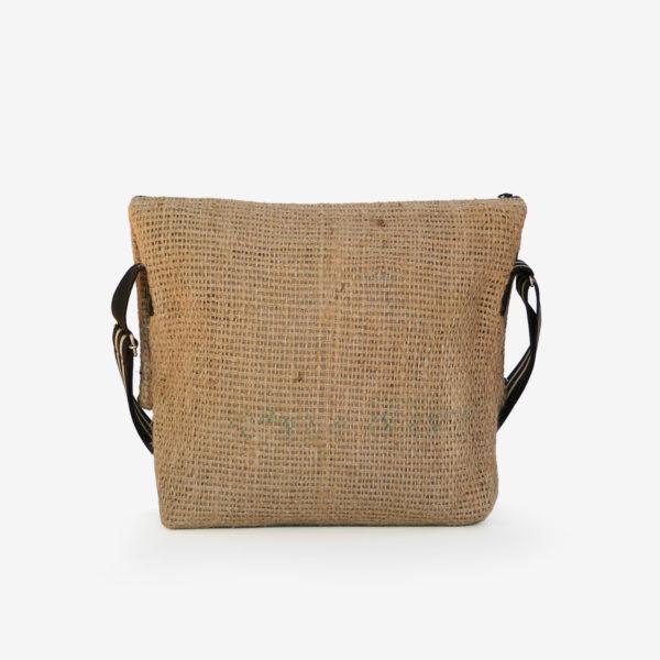 05dos sac besace en toile de jute issu des sacs de transport de café.