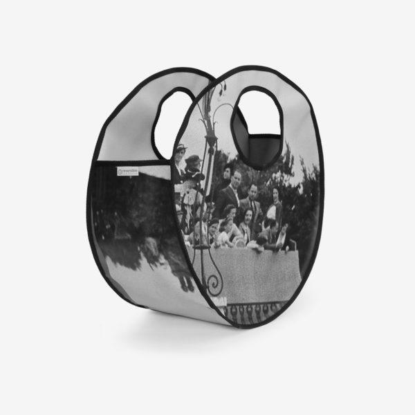 8 dos sac cabas rond expo photos en bâche publicitaire.