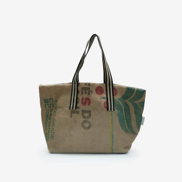 Dos02 Cabas en toile de sac de transport de café importé du Bresil.