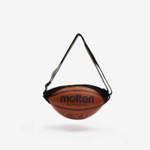Sac en ballon de basket recyclé orangé Molten.