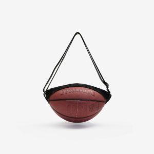 Sac en ballon de basket recyclé Spalding.