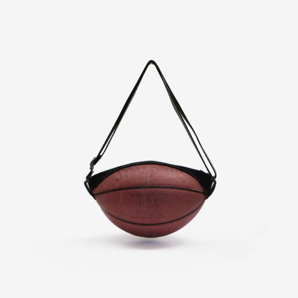 Dos de sac en ballon de basket recyclé Spalding