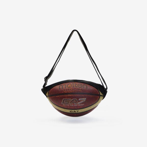 Sac en ballon de basket recyclé bicolore Molten.