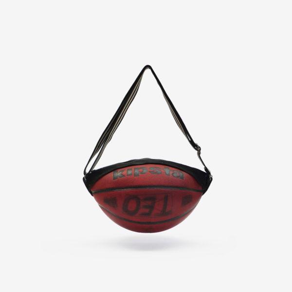 Dos de sac en ballon de basket recyclé Kipsta. Mode et économie circulaire vont de pair.