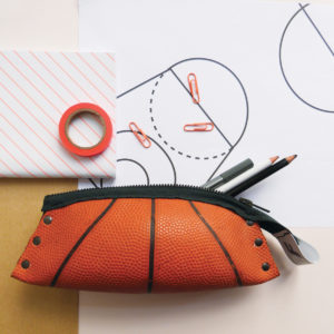 Trousse en ballon de basket