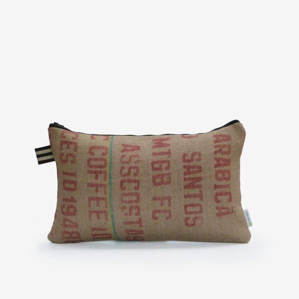 2 dos de Housse de coussin en sac de transport de café.