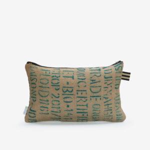3 Housse de coussin en sac de transport de café.
